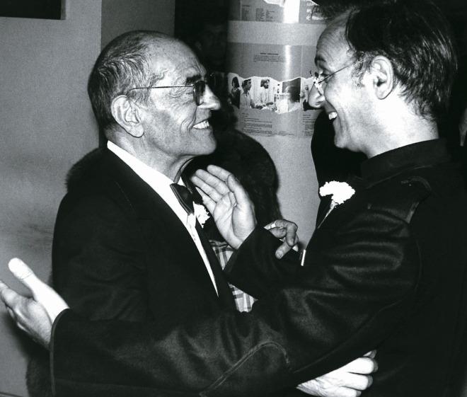 29_Luis Buñuel, Carlos Saura, 1977.jpg