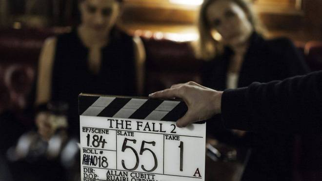 3_Gillian Anderson on the set of The Fall, 2013..jpg