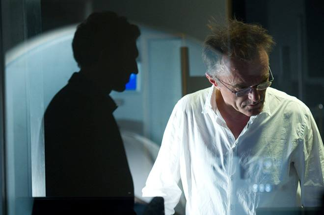 9_Danny Boyle and Vincent Cassel on the set of Trance, 2013..jpg