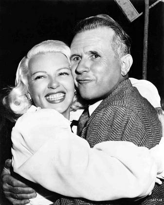 behind-the-scenes photos taken during the shooting of The Postman Always Rings Twice (1946). Look for director Tay Garnett and stars Lana Turner, John Garfield, and Cecil Kellaway.-2