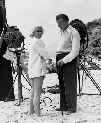 behind-the-scenes photos taken during the shooting of The Postman Always Rings Twice (1946). Look for director Tay Garnett and stars Lana Turner, John Garfield, and Cecil Kellaway.-4