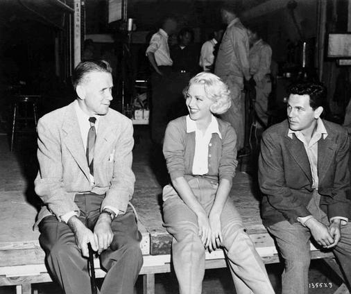 behind-the-scenes photos taken during the shooting of The Postman Always Rings Twice (1946). Look for director Tay Garnett and stars Lana Turner, John Garfield, and Cecil Kellaway.-7