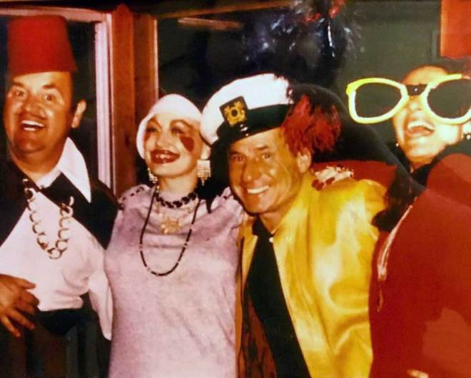 28_Dom Deluise, Dolly Parton, Mel Brooks and Anne Bancroft at Deluise's Halloween party..jpg