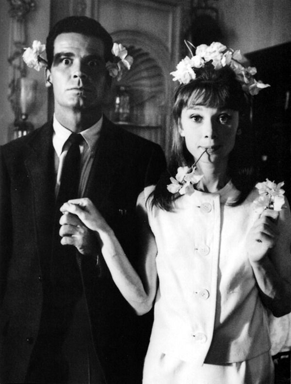 6_Audrey Hepburn and James Garner photographed by Bob Willoughby on the set of 'The Children's Hour', 1961..jpg