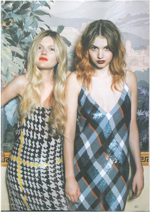 Hannah Murray,Joanna Vanderham (The runaway with JOC) and Sophie Kennedy Clark in Instyle Uk November 2013-1