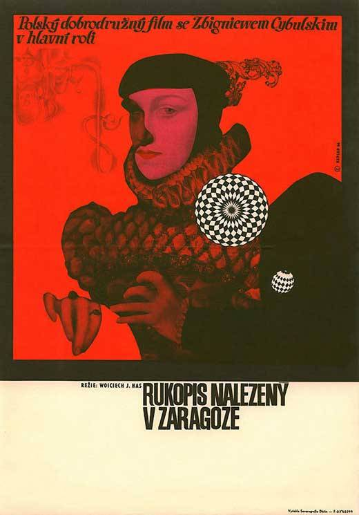 The Saragossa Manuscript (1965). Czech poster by Zdeněk Kaplan..jpg