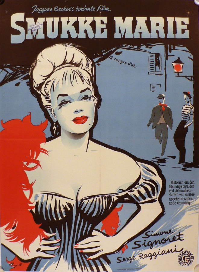 11_Casque d'Or danish poster, art by Benny Stilling.jpg