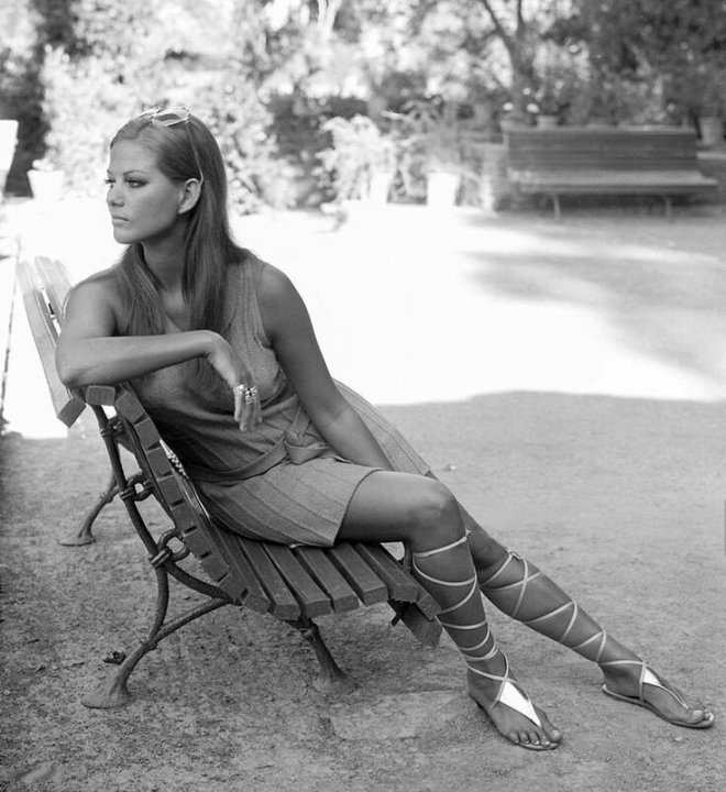 20_Claudia Cardinale during a visit to the Alhambra, Granada, Andalucia, Spain, 1968_Gianni Ferrari.jpg