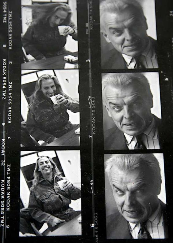 4_Proof sheet of Frank Silva and Ray Wise on the set of the Twin Peaks.jpg