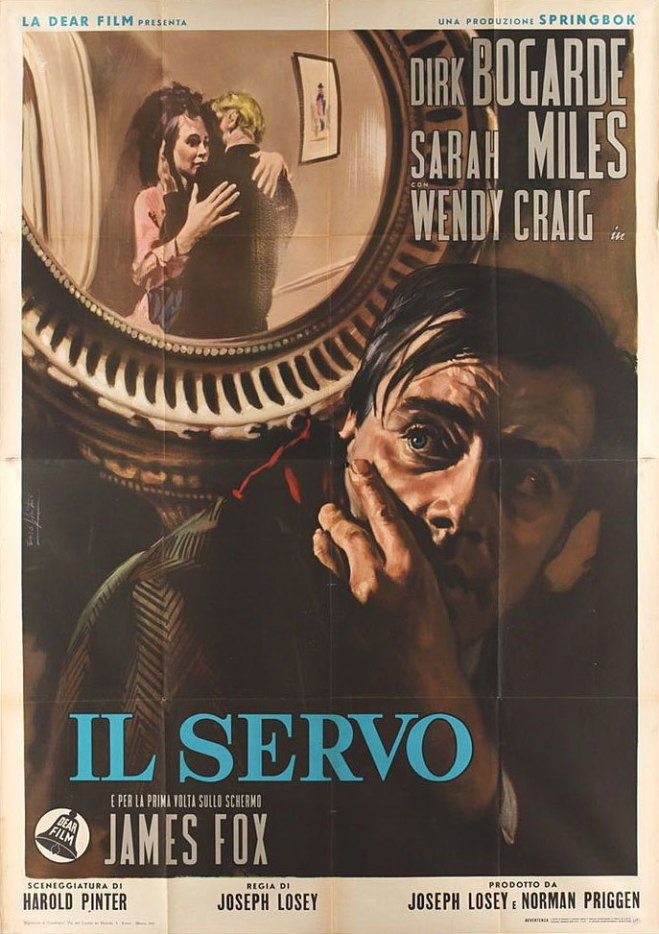17_Italian 4-foglio for THE SERVANT (Joseph Losey, UK, 1963)  by Enzo Nistri.jpg