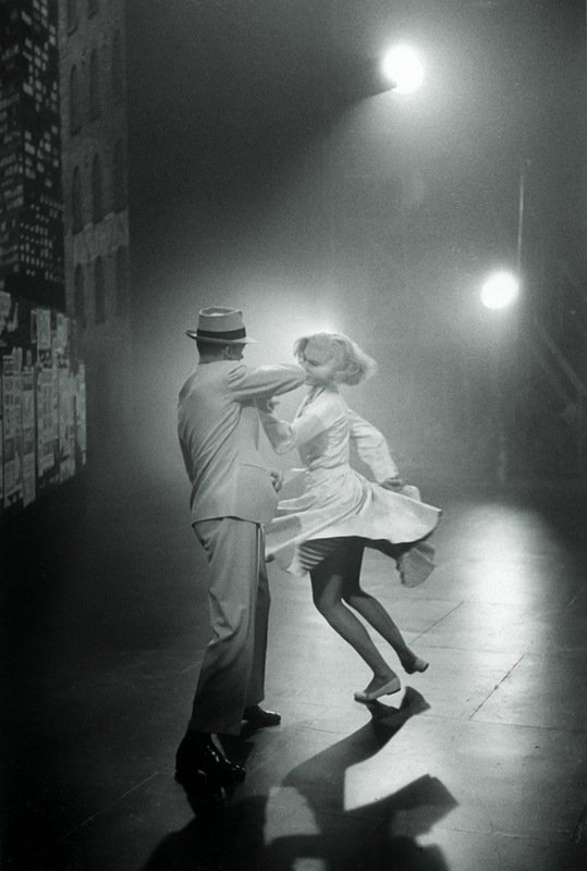 20_Fred Astaire and Cyd Charisse, dance rehearsals for 'The Band Wagon'  (director, Vincente Minnelli, 1953)..jpg