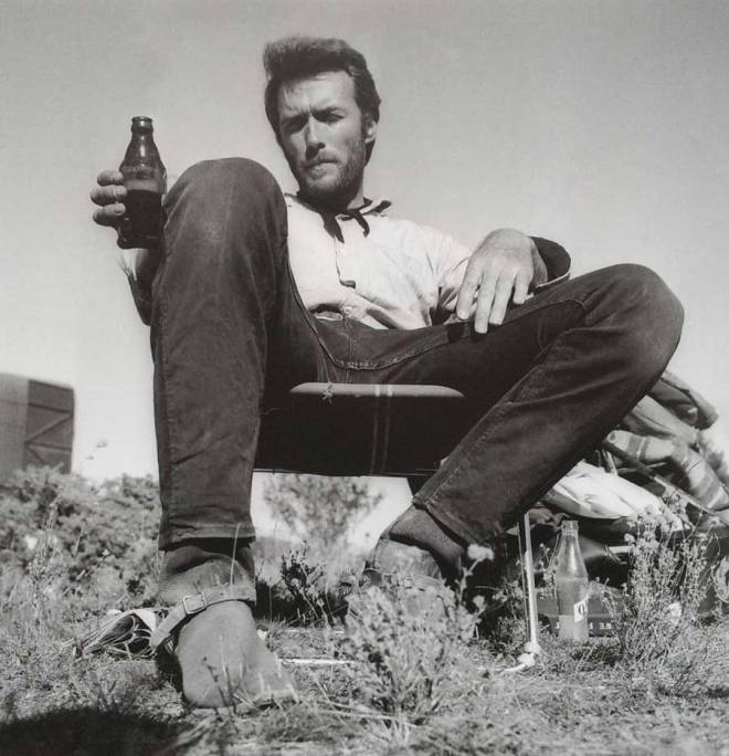 6_Clint Eastwood chilling on the set of The Good, the Bad and the Ugly..jpg