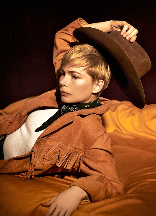 Michelle Williams photographed by Collier Schorr for Vanity Fair-1