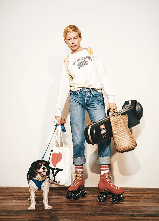 Michelle Williams photographed by Collier Schorr for Vanity Fair-2