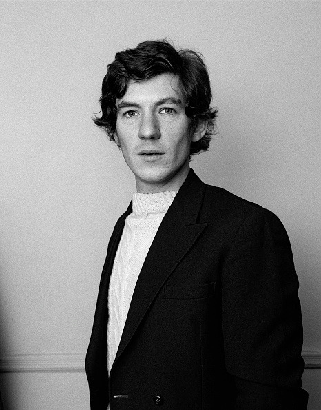 27_Ian McKellen, 1974. Photo by George Wilkes-1