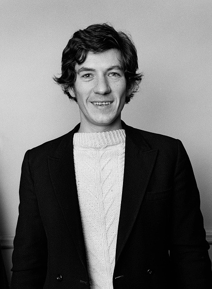 Ian McKellen, 1974. Photo by George Wilkes-2