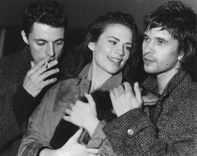 Matthew Goode, Ben Whishaw and Hayley Atwell by Bruce Webber for Vogue UK, 2008. -3