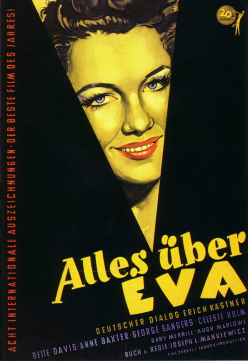 26_All About Eve (1950). German poster..jpg
