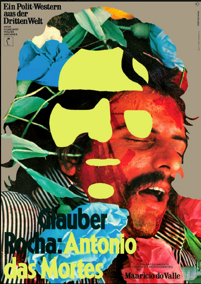 Hans Hillmann's poster for Antonio das Mortes (1969), directed by Glauber Rocha.png
