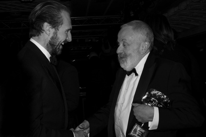11_Ralph Fiennes and Mike Leigh photographed by Sarah Lee at the BAFTAs (8 FEB 2015)-1.jpg