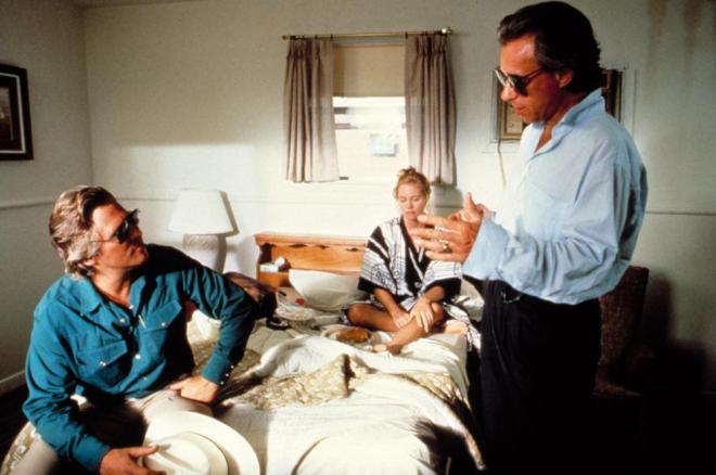 20_Jeff Bridges and Cybill Shepherd receive direction from Peter Bogdanovich on the set of Texasville..jpg