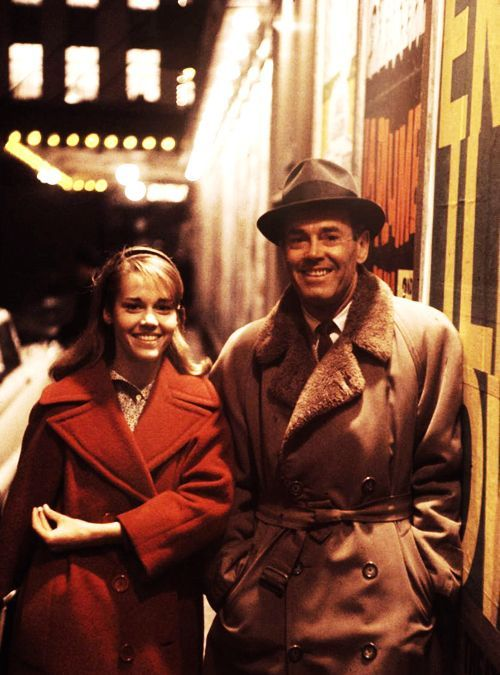 23_Henry Fonda and daughter Jane Fonda photographed by Leonard McCombe in New York City, 1960. -1