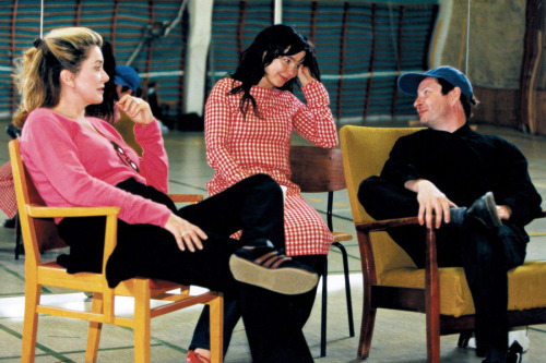 29_Catherine Deneuve, Björk and Director Lars von Trier on the set of Dancer in the Dark..jpg