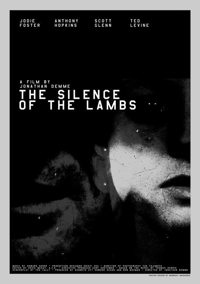 "9_Jonathan Demme's  ""The Silence of the Lambs"" by Midnight Marauder.jpg"