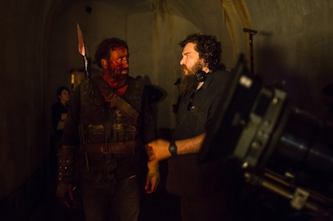 18_Nicolas Cage and Director Panos Cosmatos on the set of Mandy..jpg