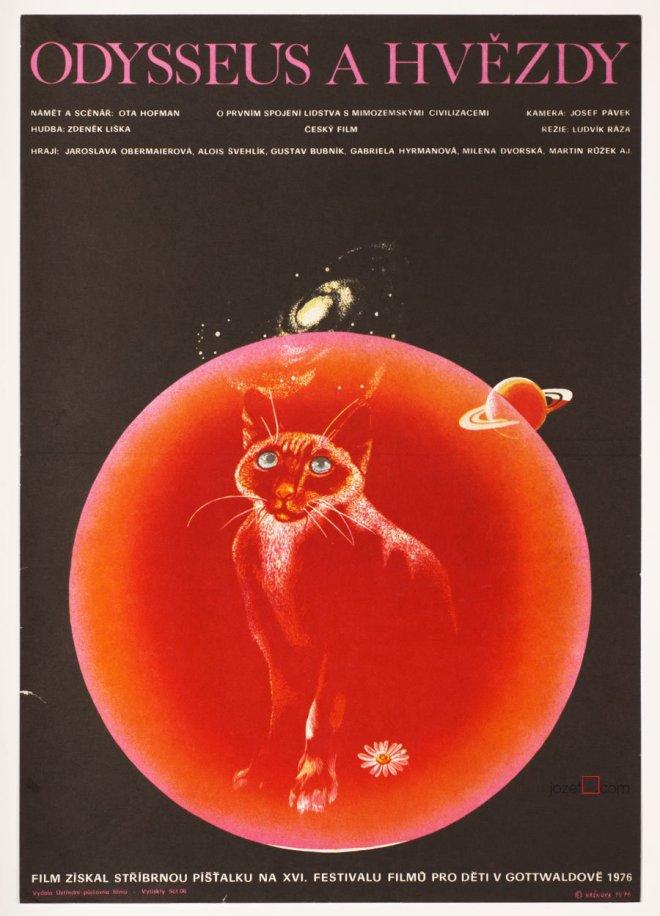 8- Czech poster Ulysses and the Stars (Odysseus a Hvězdy) 1976  dir. Ludvík Ráza.jpg