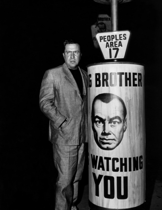Edmond O'Brien as Winston Smith in a publicity still for the 1956 adaptation of George Orwell's 1984..jpg