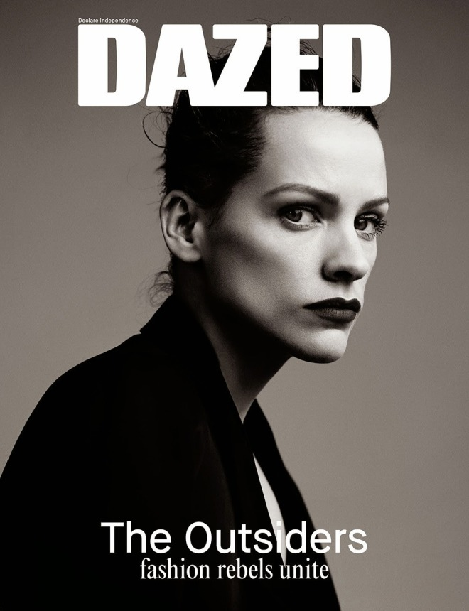 3_Veerle Baetens, photographed by Willy Vanderperre, on the cover of Dazed Magazine, as one of The Outsiders..jpg