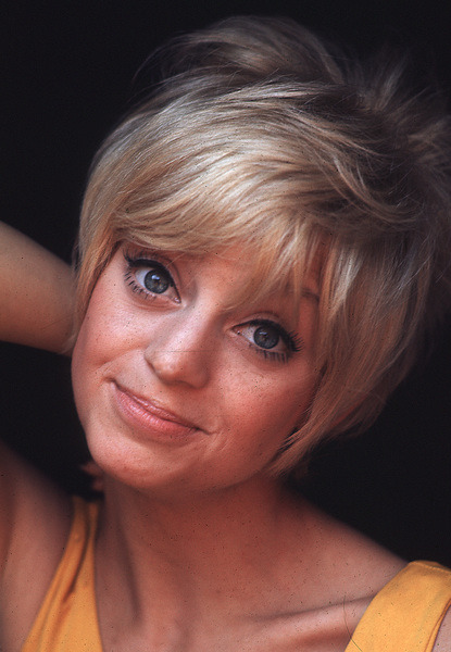 Goldie Hawn photographed by Gene Trindl, 1968.