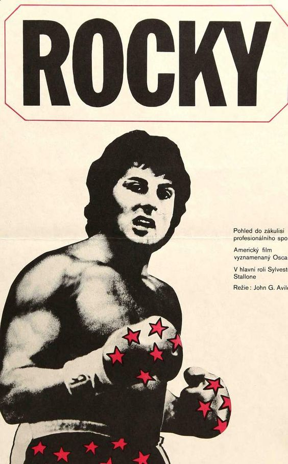 Rocky (1976) Original Movie Poster from the Czech Republic.jpg