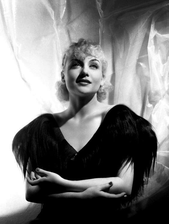 Carole Lombard photographed by George Hurrell.