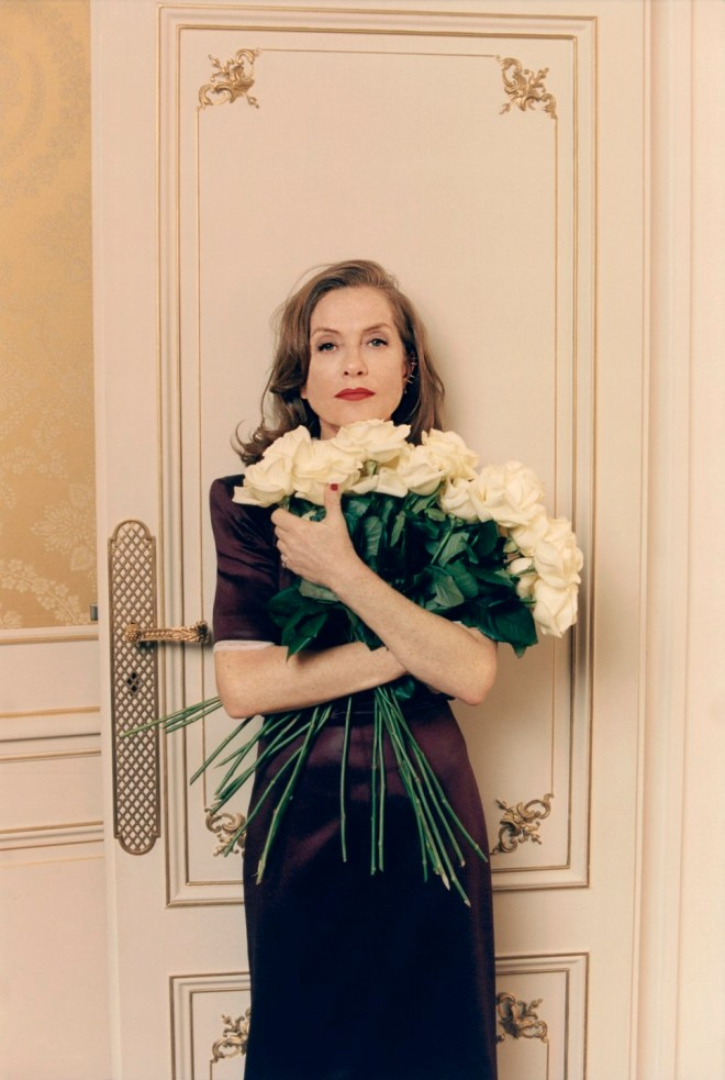Isabelle Huppert, photographed by Venetia Scott for Vogue UK, Oct 2018.-2