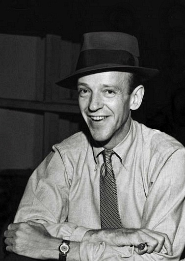 Fred Astaire on the set of You'll Never Get Rich, 1941.jpg