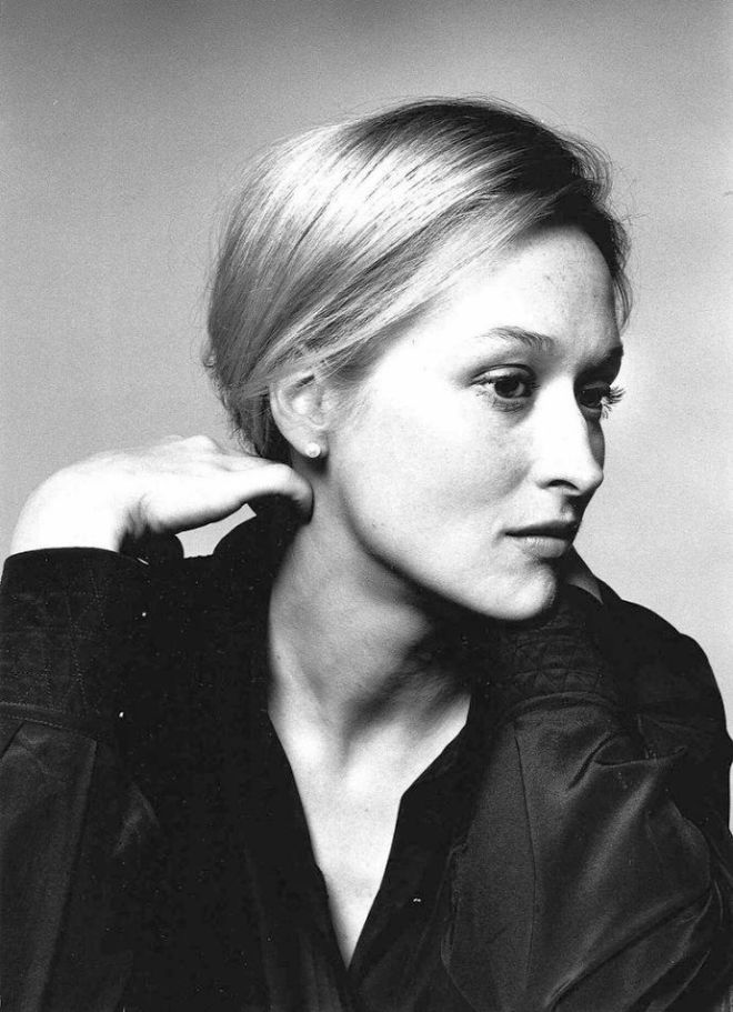 Meryl Streep, New York City, c.1977-1