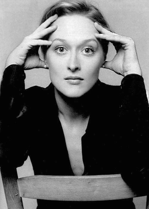 Meryl Streep, New York City, c.1977-2